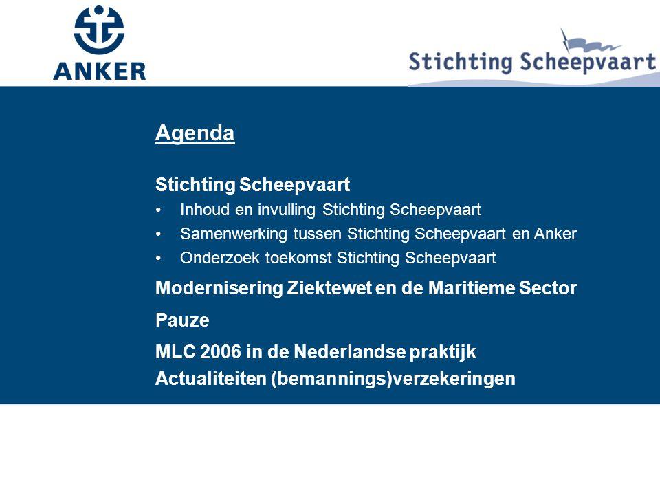 Agenda Agenda Stichting Scheepvaart
