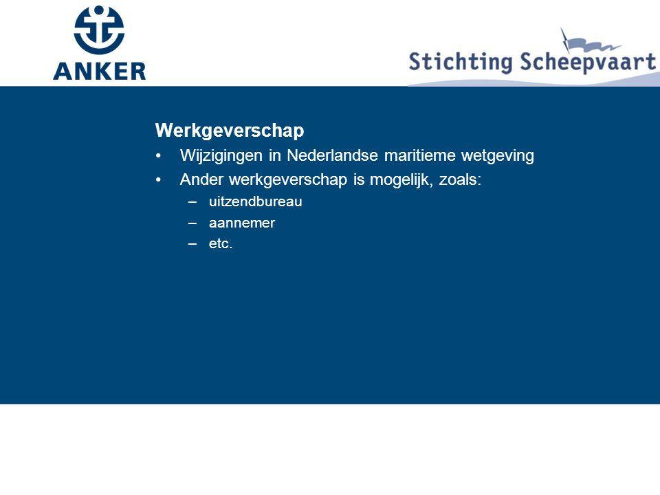 Werkgeverschap Wijzigingen in Nederlandse maritieme wetgeving