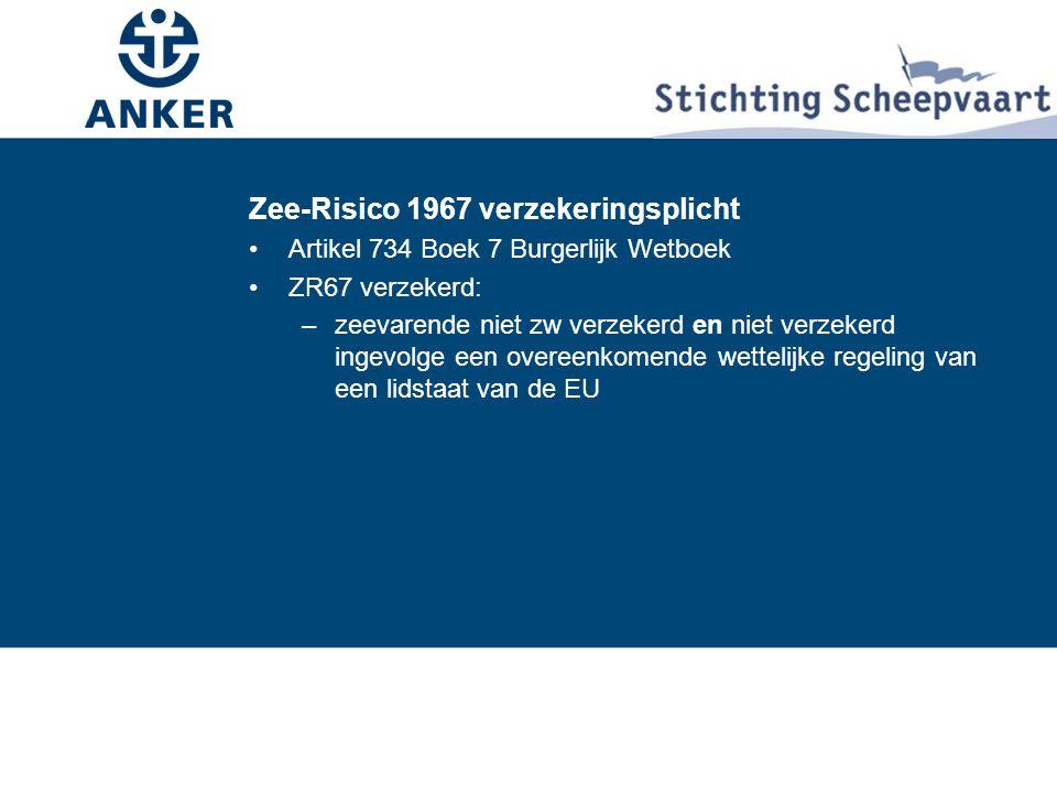 Zee-Risico 1967 verzekeringsplicht