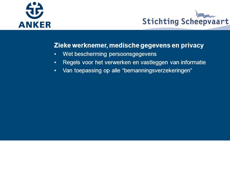 Zieke werknemer, medische gegevens en privacy