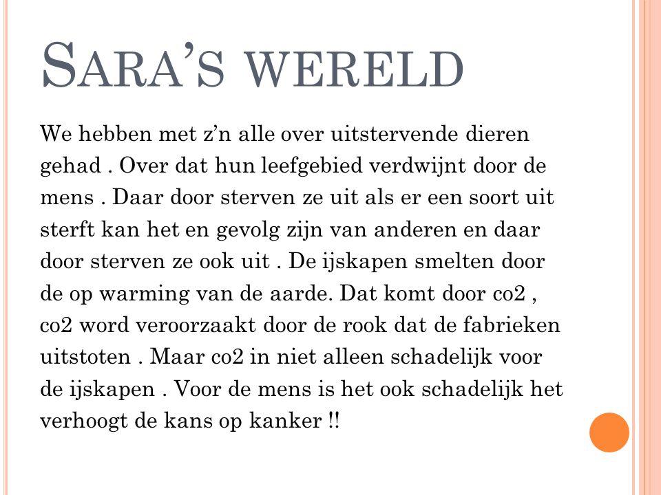 Sara's wereld