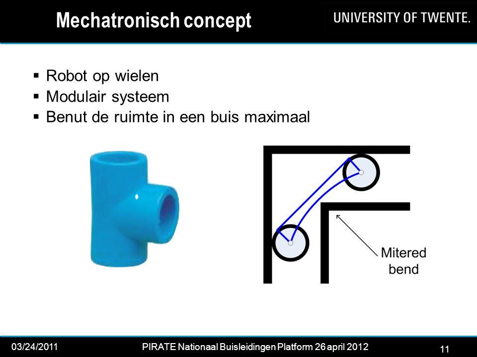 Mechatronisch concept