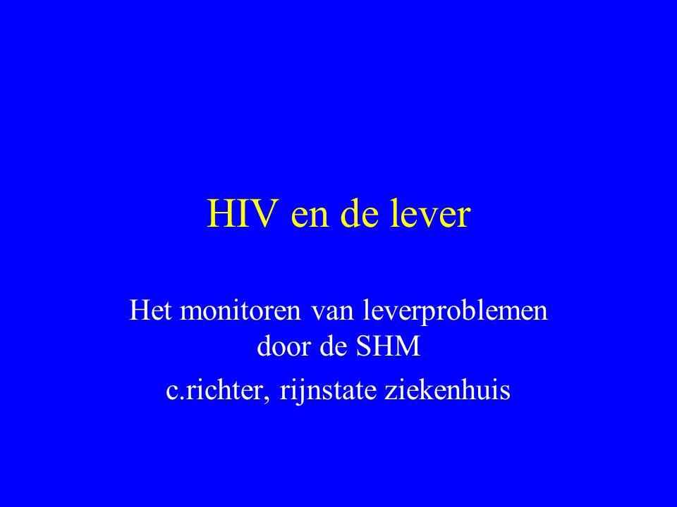 HIV en de lever Het monitoren van leverproblemen door de SHM
