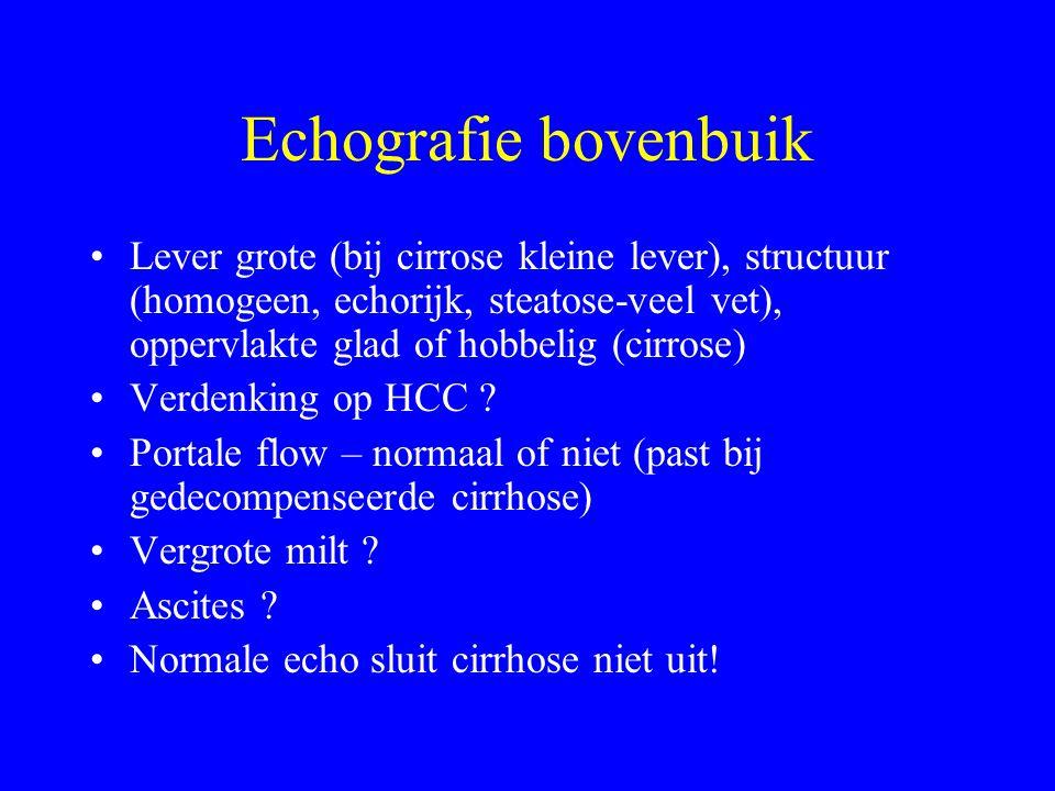 Echografie bovenbuik