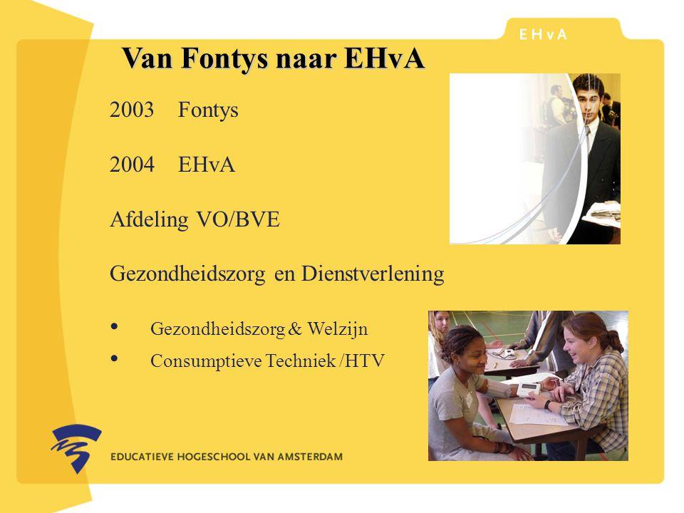 Van Fontys naar EHvA leraar of pedagoog word je aan de
