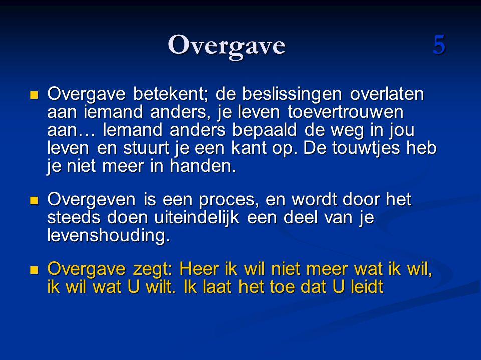 Overgave 5