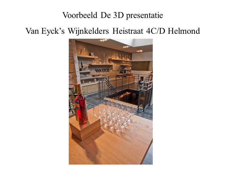 Voorbeeld De 3D presentatie