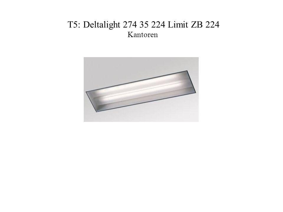 T5: Deltalight 274 35 224 Limit ZB 224 Kantoren