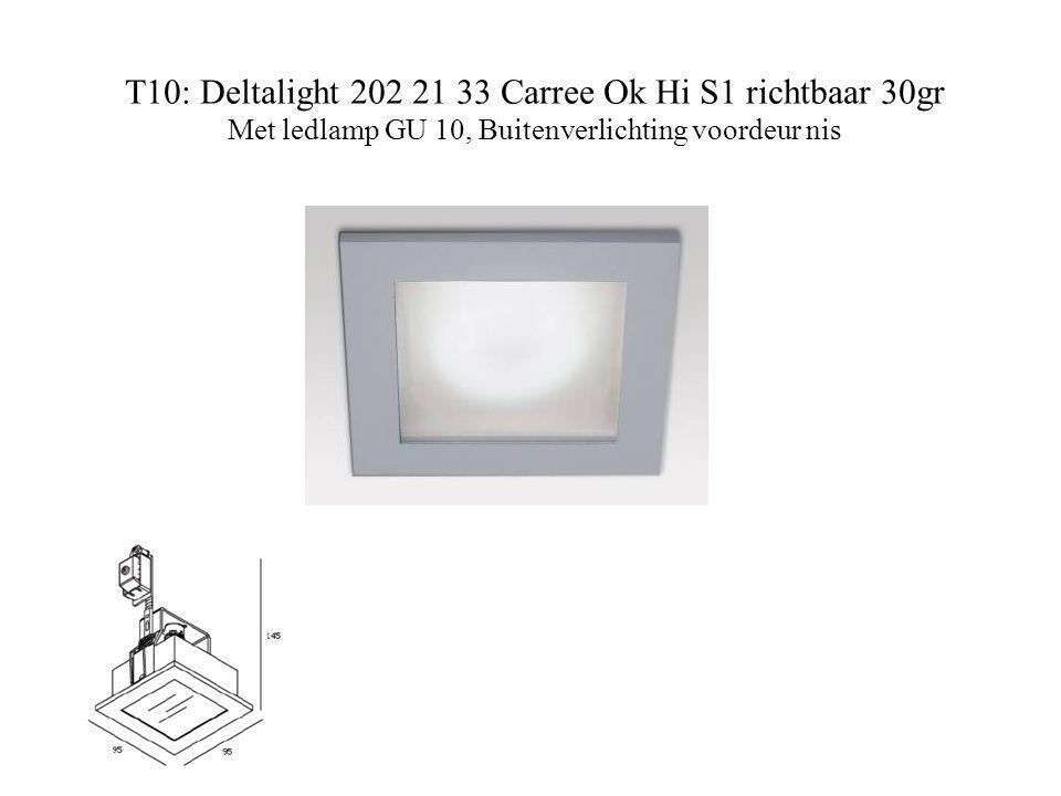 T10: Deltalight 202 21 33 Carree Ok Hi S1 richtbaar 30gr