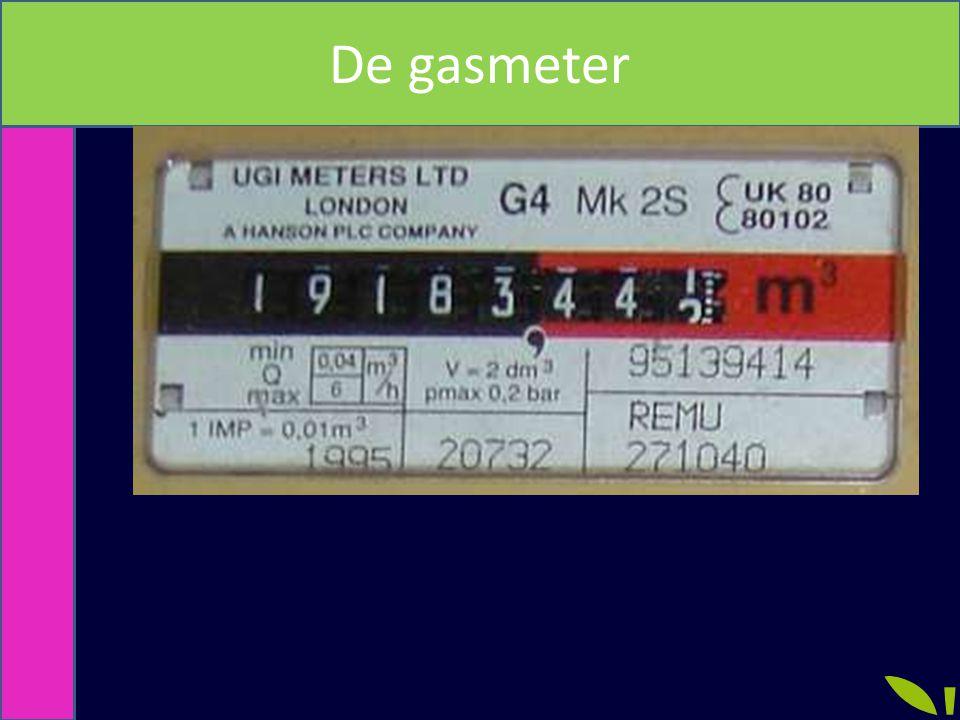 De gasmeter
