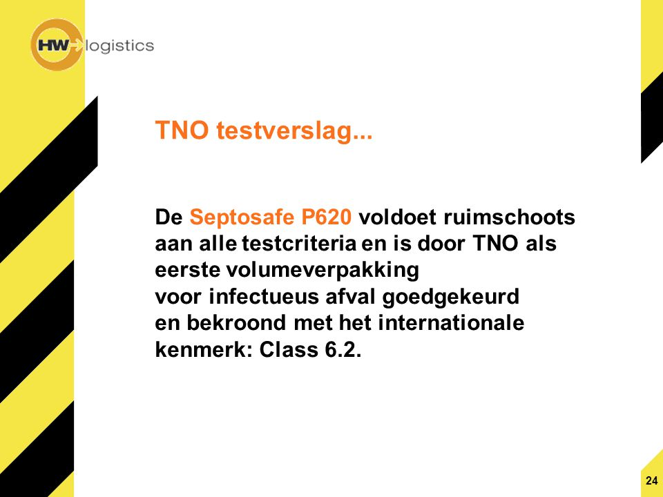 TNO testverslag...
