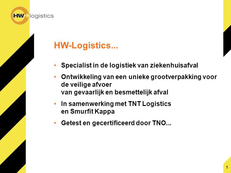 HW-Logistics... Specialist in de logistiek van ziekenhuisafval