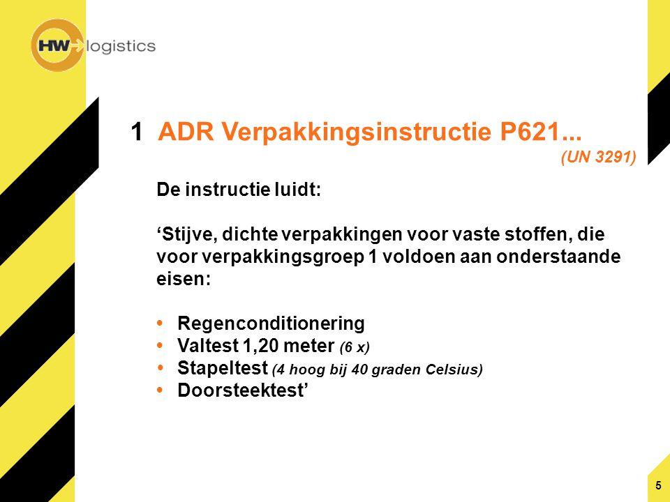 1 ADR Verpakkingsinstructie P621...