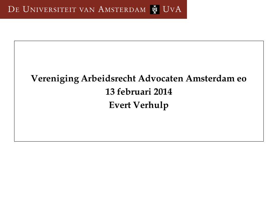 Vereniging Arbeidsrecht Advocaten Amsterdam eo
