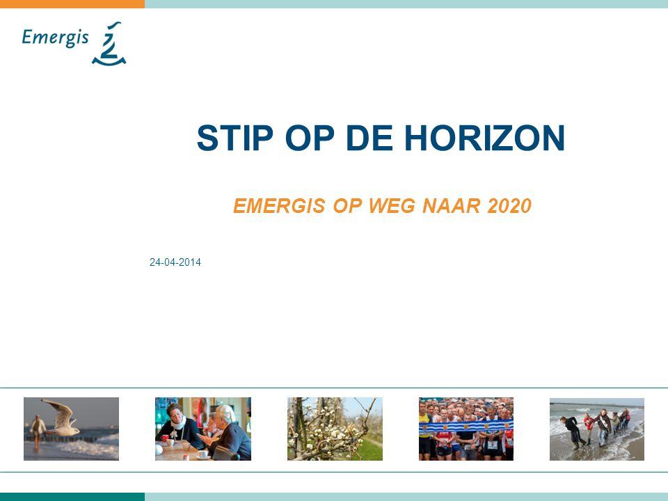 STIP OP DE HORIZON EMERGIS OP WEG NAAR 2020 24-04-2014