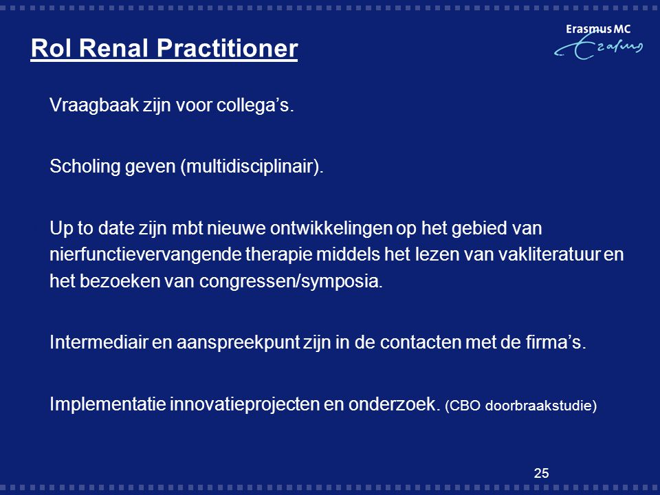 Rol Renal Practitioner