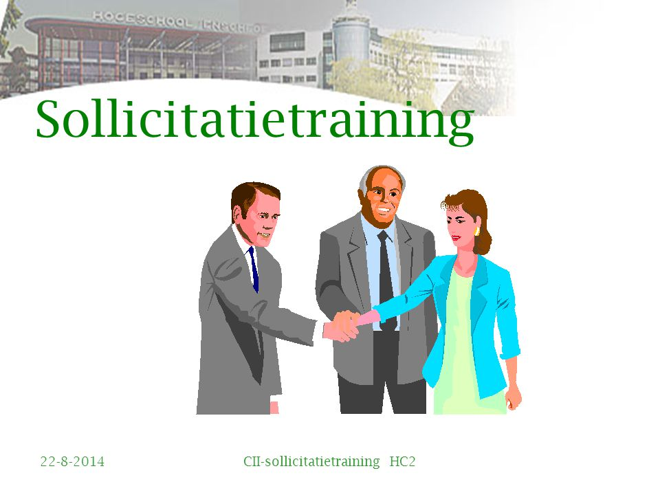 Sollicitatietraining