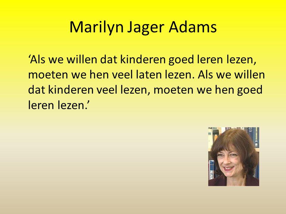 Marilyn Jager Adams