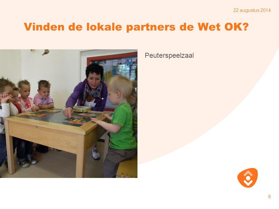 Vinden de lokale partners de Wet OK