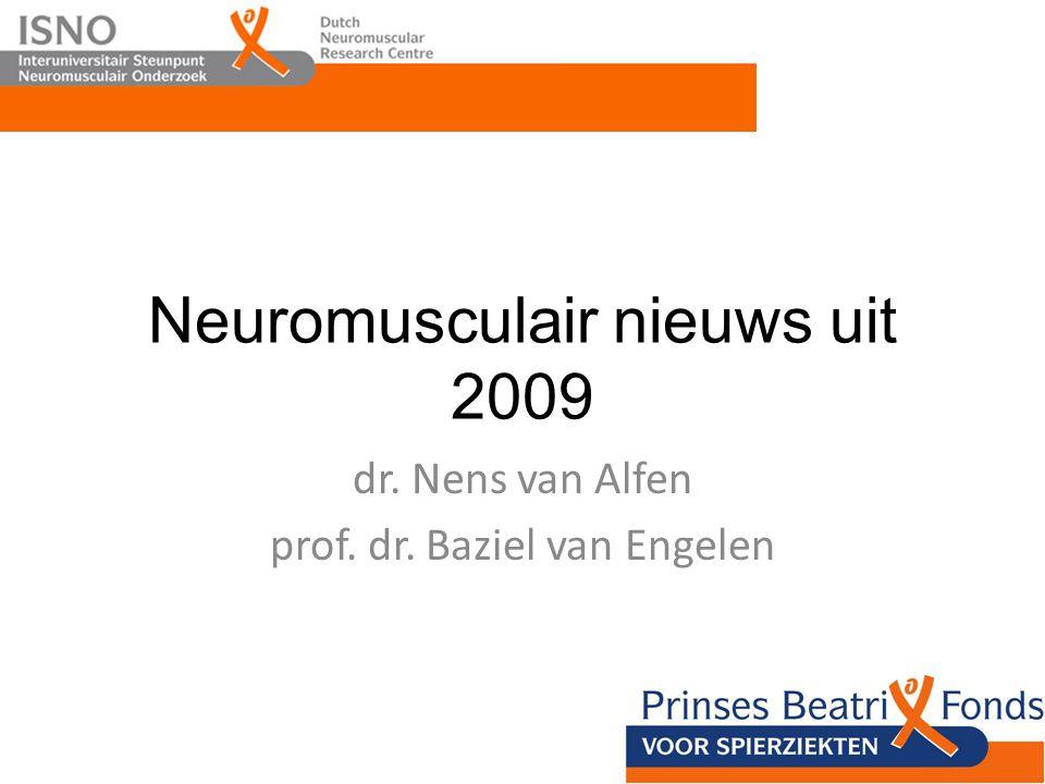 Neuromusculair nieuws uit 2009