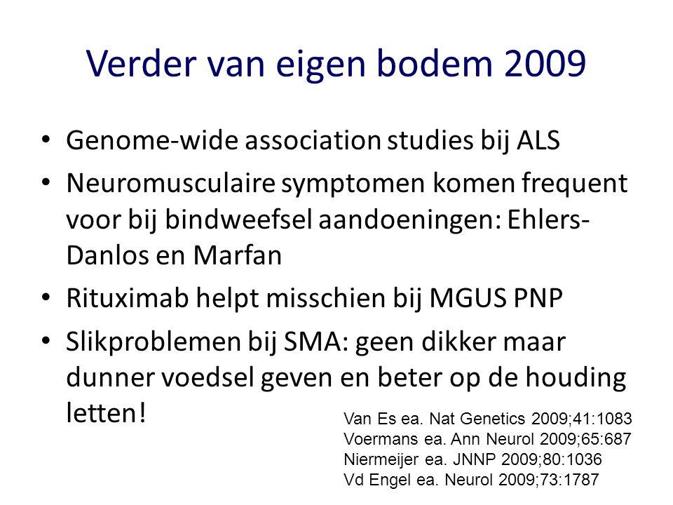 Verder van eigen bodem 2009 Genome-wide association studies bij ALS