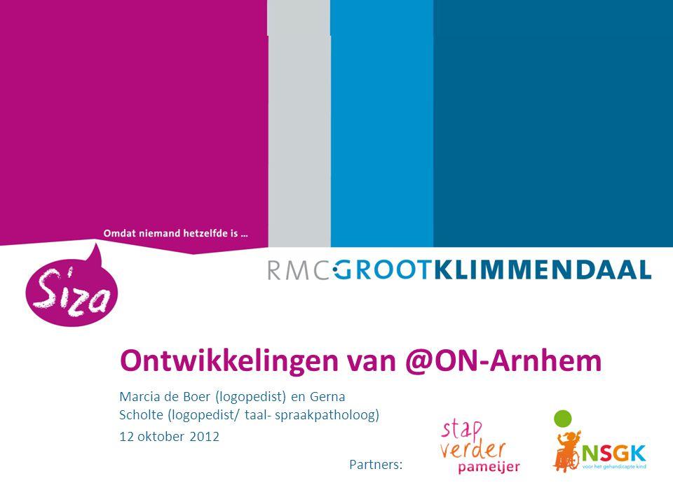 Ontwikkelingen van @ON-Arnhem