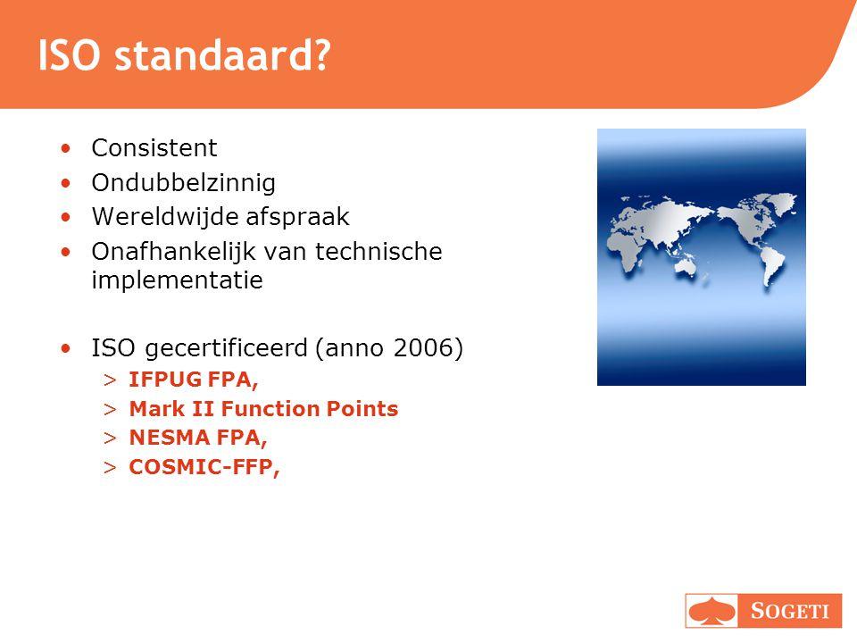 ISO standaard Consistent Ondubbelzinnig Wereldwijde afspraak