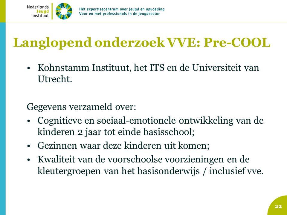 Langlopend onderzoek VVE: Pre-COOL