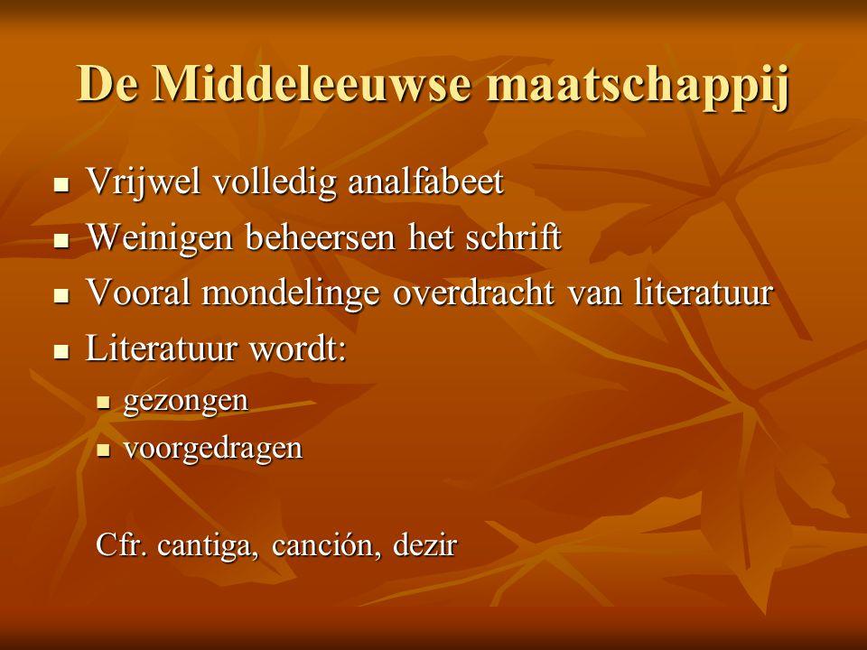 De Middeleeuwse maatschappij