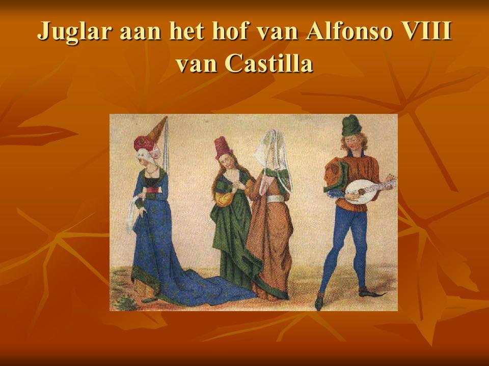 Juglar aan het hof van Alfonso VIII van Castilla