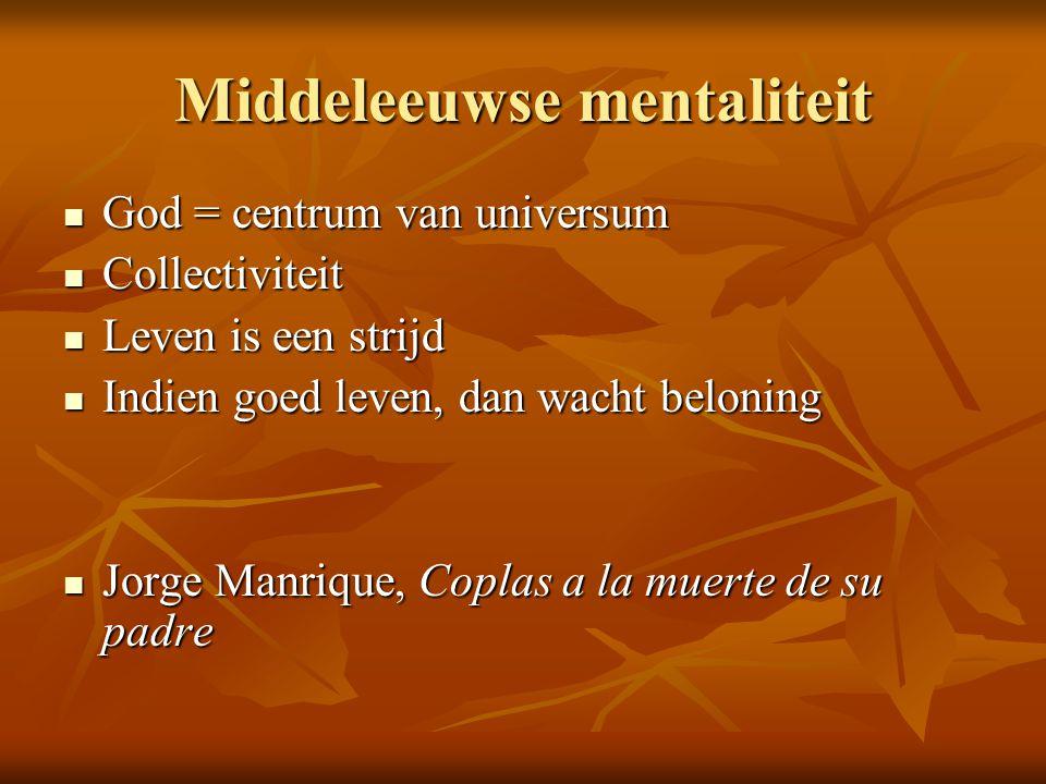 Middeleeuwse mentaliteit