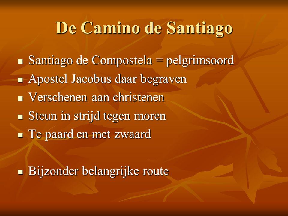 De Camino de Santiago Santiago de Compostela = pelgrimsoord