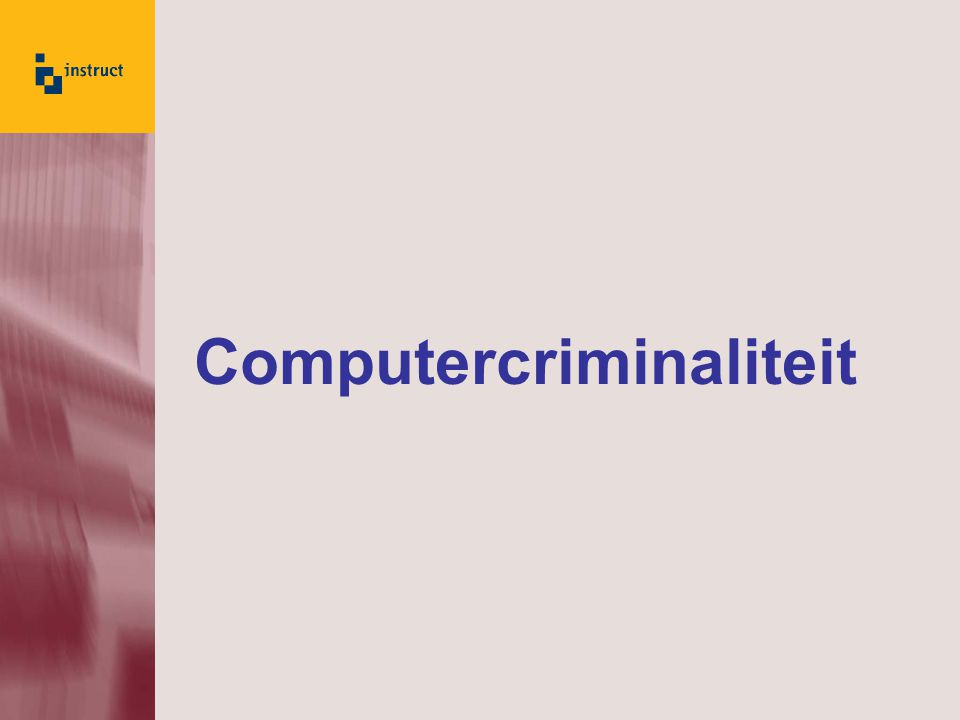 Computercriminaliteit