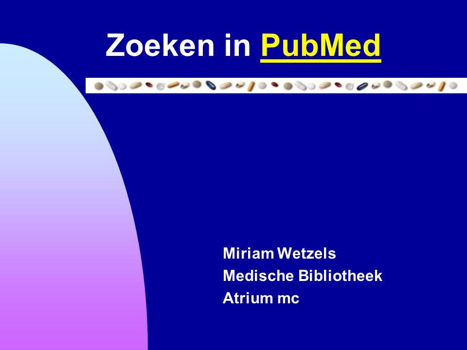 Miriam Wetzels Medische Bibliotheek Atrium mc