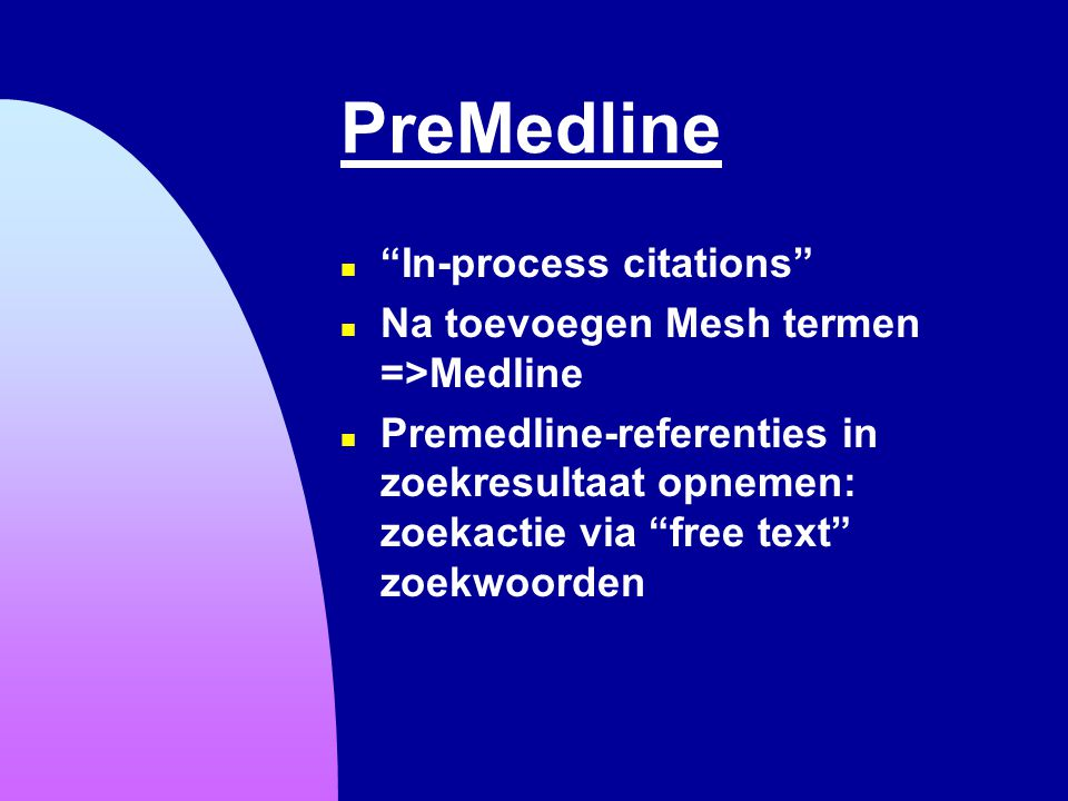 PreMedline In-process citations