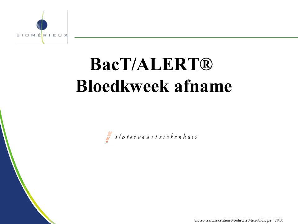 BacT/ALERT® Bloedkweek afname