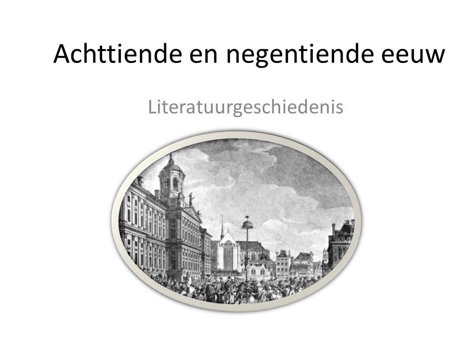 Achttiende en negentiende eeuw