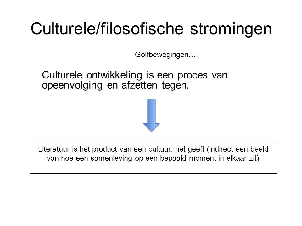 Culturele/filosofische stromingen