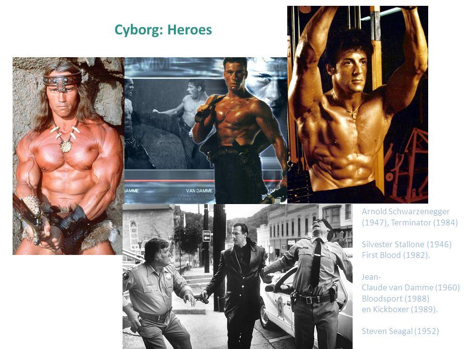 Cyborg: Heroes Arnold Schwarzenegger (1947), Terminator (1984)