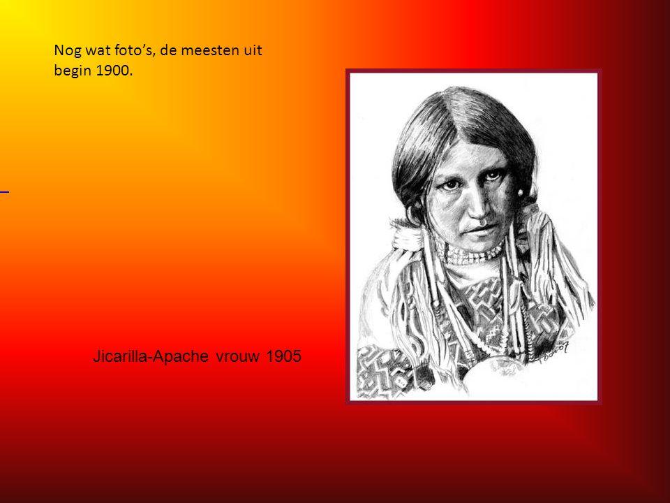 Jicarilla-Apache vrouw 1905.