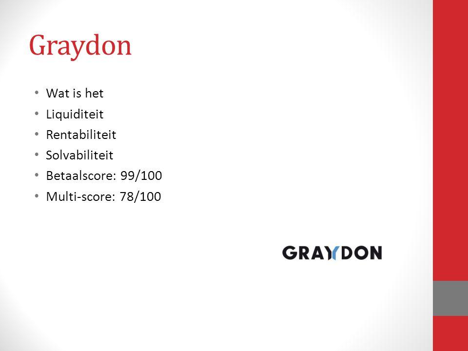 Graydon Wat is het Liquiditeit Rentabiliteit Solvabiliteit