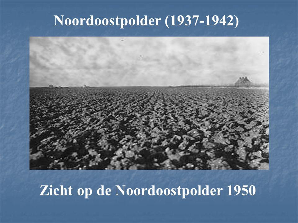 Noordoostpolder (1937-1942) Zicht op de Noordoostpolder 1950