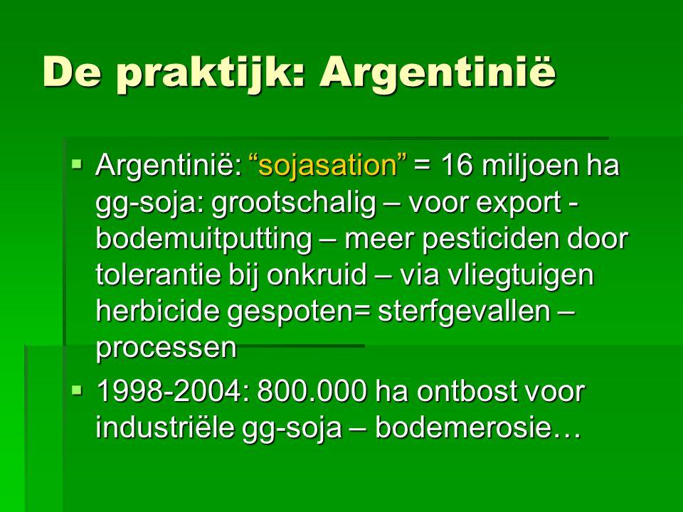 De praktijk: Argentinië