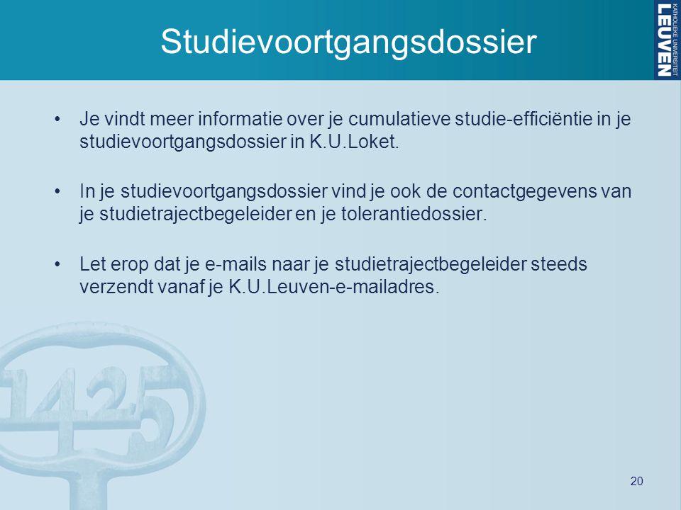 Studievoortgangsdossier