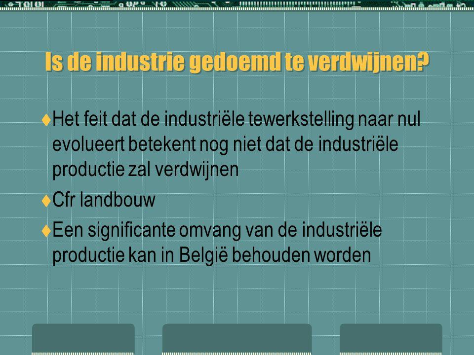 Is de industrie gedoemd te verdwijnen