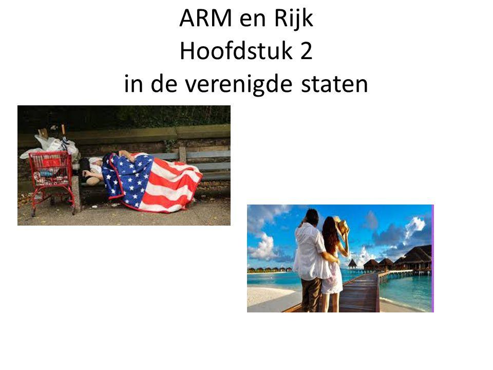ARM en Rijk Hoofdstuk 2 in de verenigde staten