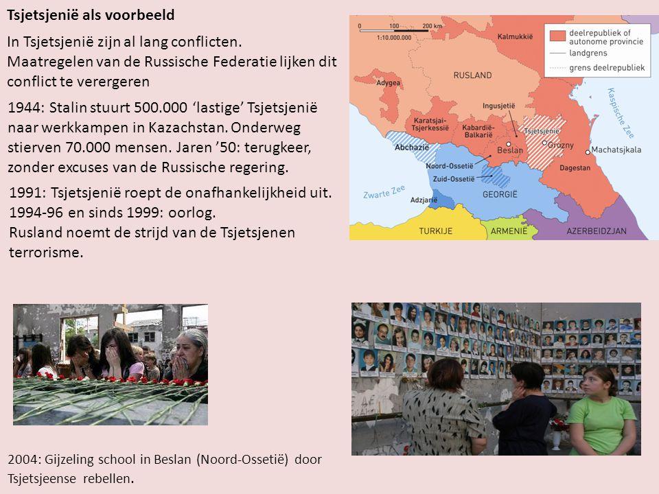 Tsjetsjenië als voorbeeld