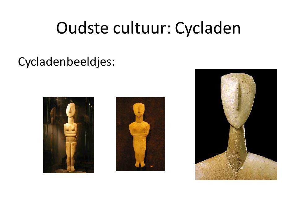 Oudste cultuur: Cycladen