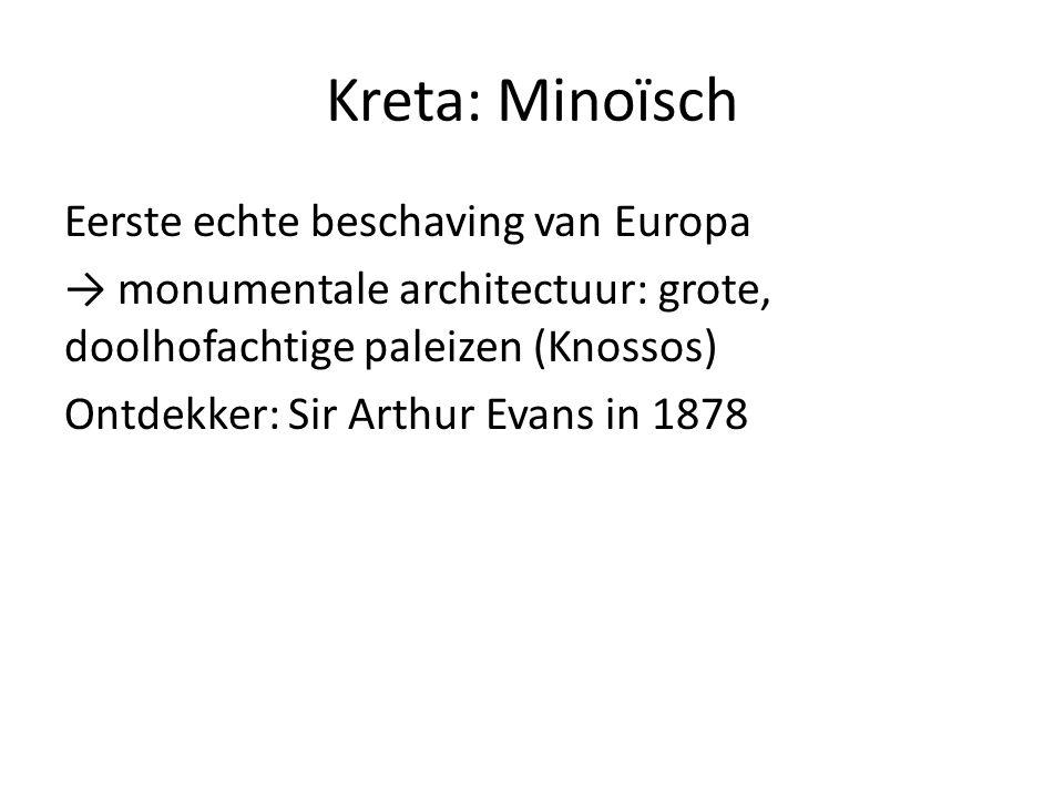 Kreta: Minoïsch