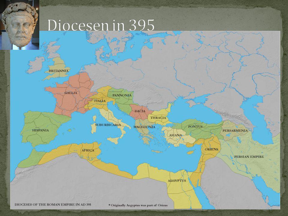 Diocesen in 395